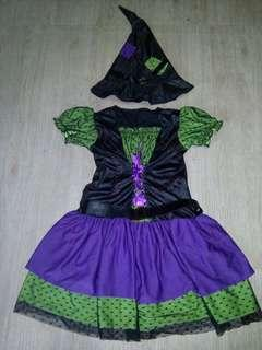 Witch 8-10 yrs old