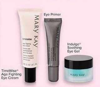 Mary Kay TimeWise Age Fighting Eye Cream Set   - Indulging Soothing Eye Gel Eye Care Set