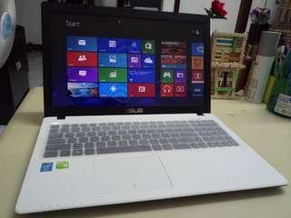 Asus Thin/White/i5/win8/4Gb/500Gb hdd/Gaming