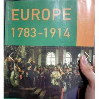 🚚 Europe 1783-1914 ed William Sampson and Martin Jones