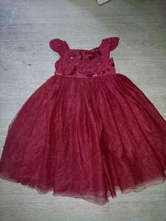 Elegant gown 4 yrs old