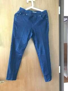 🛍Supreme Elastic denim pants