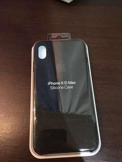 Xs max silicone case apple original