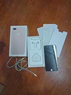 Iphone 7 Plus rose gold 128gb REPRICE