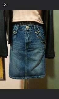 ON SALE!!! denim skirt