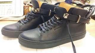 全新意大利品牌Buscemi黑色型格男裝鞋