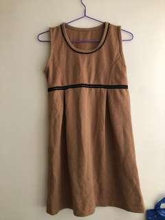斯文裙 dress one piece korean Zara hollister forever21 topshop monki sasa girl lady winter
