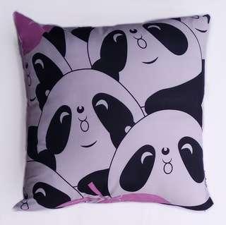Bantal Sofa Multifungsi Motif Pink Panda