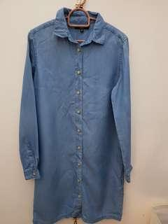 Uniqlo jeans shirt