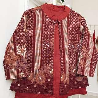 Blazer Blouse Batik