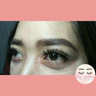 Eyelash extension bdg