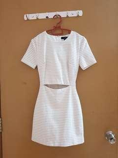 (2 for RM50) Mds mini white dress
