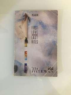 Ian McEwan - First Love, Last Rites