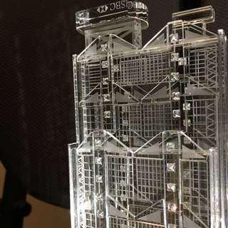 限量版-🎁HSBC Building 水晶擺件 L size