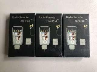 Radio remote for Apple iPod