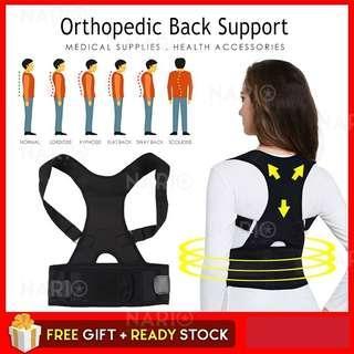 Orthopedic Back Support Clavicle Brace Baju Cegah Sakit Tulang Belakang