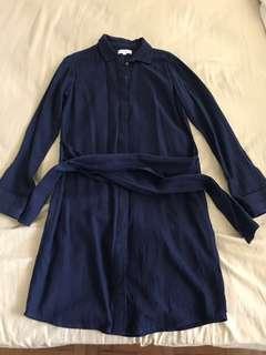 Warehouse Buttondown Dress