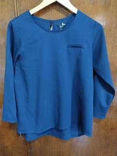 Darkblue Memo Long sleeves