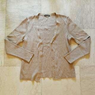 Gold Cardigan / Sweater
