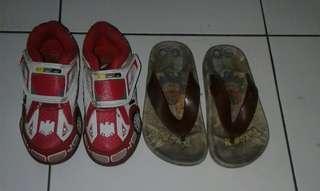 take all sepatu anak led