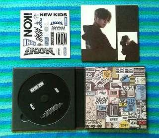 iKON SINGLE ALBUM NEW KIDS BEGIN (ALBUM ONLY)