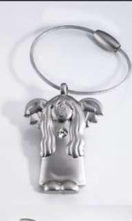 🚚 TROlKA 天使艾蜜莉鑰匙扣(施華洛世奇水鑽)