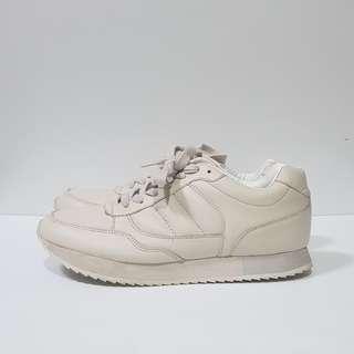 Zara Cream Sneakers Sz39