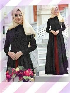 Lace maxi dress (Muslim)