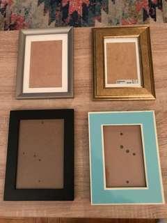 Assorted frames