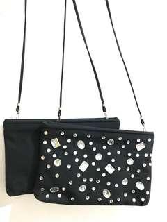 Brand new sling bag convertible to clutch bag
