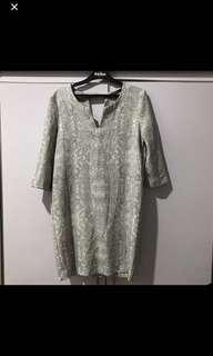 Mango Basics Printed Dress