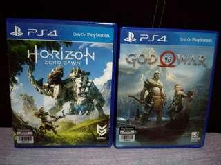 Horizon Zero Down dan God Of War