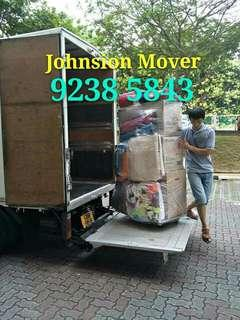 Call 92385843 JohnsionMover, 免费估价,House moving services.