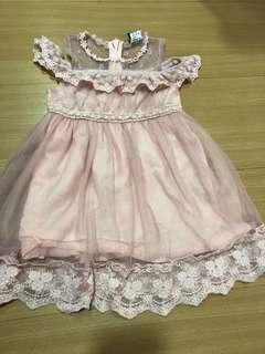 Girls Dress  80-95cm