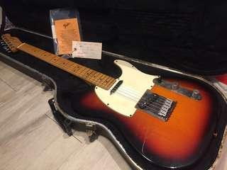 Fender American Standard Tele 50th anniversary