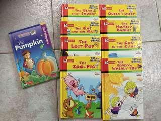 Robin books (9 books)