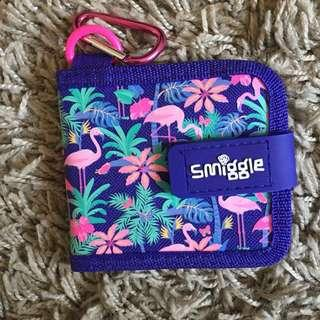 smiggle wallet with chain