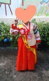 **FOR RENT*** Korean Hanbok for kids