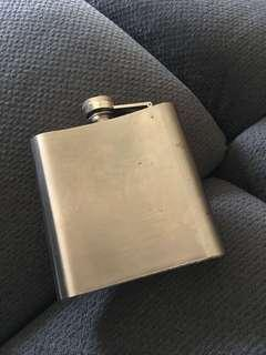 Stainless steel drinking flask