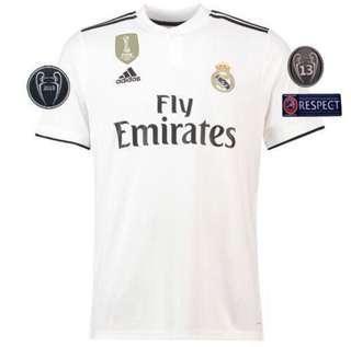 Real Madrid Adidas Jersey