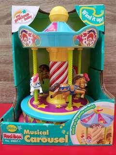 Musical Box Carousel My Precious Baby