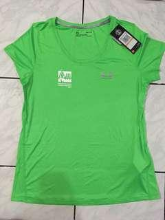 Under Armour Running Tshirt Size M Female Standard Chartered Singapore