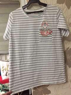 Dolly Dell Bunny Striped Shirt