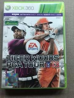Xbox 360 Game Kinect Tiger Woods PGA Tour 13 and get PGA Tour 06 for free