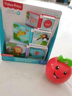 Rainforest Friends Activity Book and Learning Happy Apple