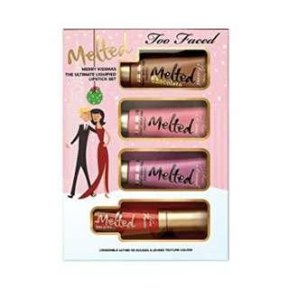 Too Faced Melted Lipstick Mini Set