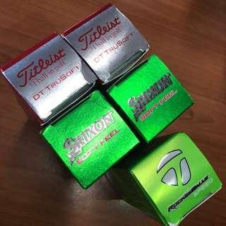 15 NEW Golf Balls- Titleist- Srixon -TaylorMade
