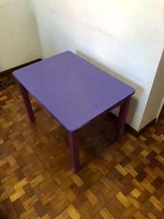 Children table