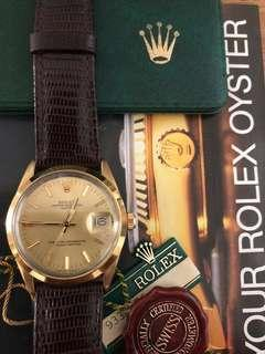 Rolex 15505 Oyster Perpetual Date (Full and Complete Set