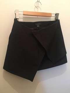 Ellery Silk Wrap Skirt Size 8 Black
